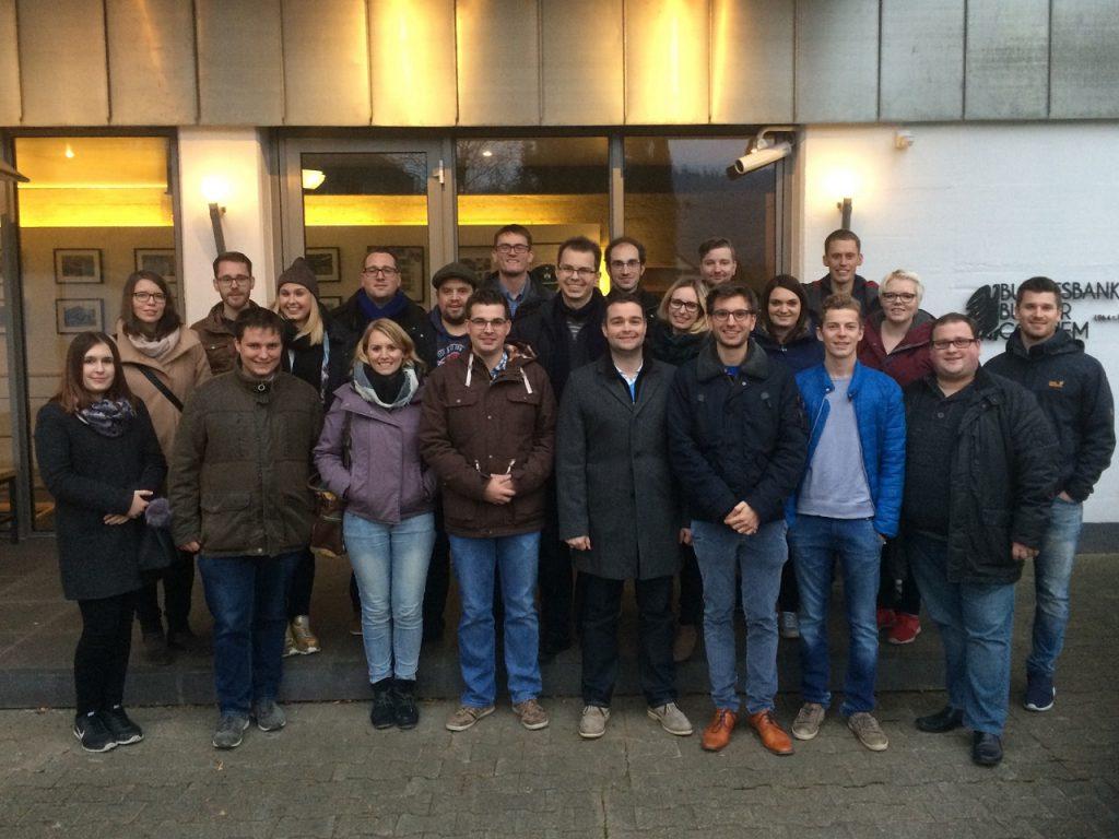 Junge Union zu Besuch im Bundesbankbunker Cochem