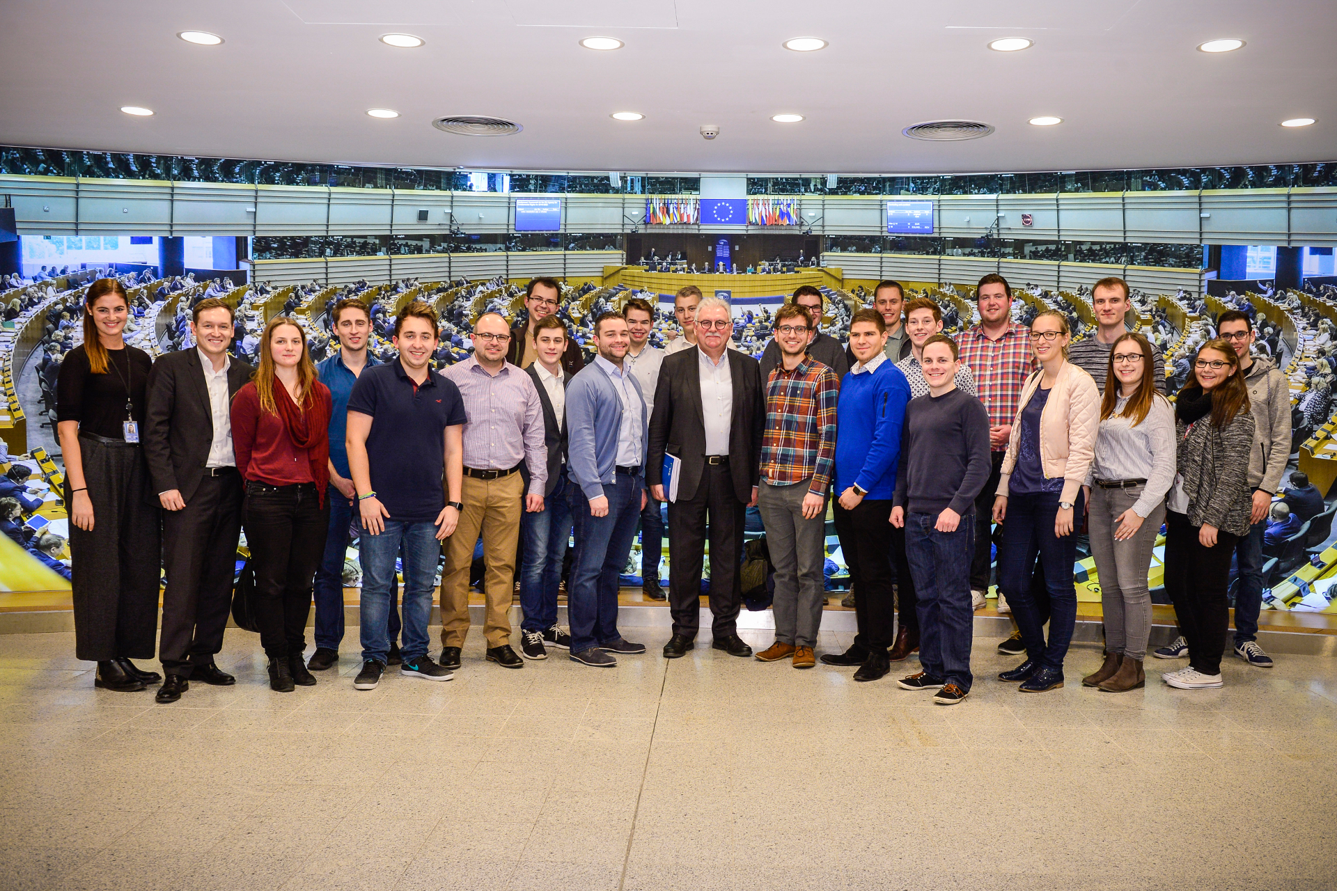 Junge Union erkundet Brüssel